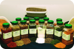 Natural Spices product display